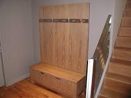 Coat Rack Modern Design soft brown wooden wall coat Rack with steel hook and brown wooden 61