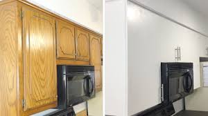 how to diy modern kitchen cabinet remodel update cabinets on a budget modern builds ep 46 you
