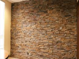 faux stone wall panels menards