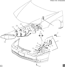 2001 monte carlo ss exploded diagrams removing headlight alldata graphic