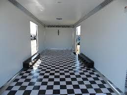 carmate 8 5 x 20 enclosed car trailer chrome skirting