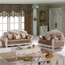 4 pcs of 1 set antique design fabric living room sofa sf 016 antique victorian living room