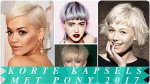 Kapsels Pony 2017 Kapsels 2018