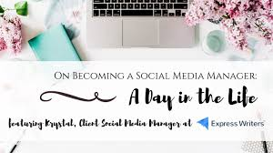 how to become a social media manager how to become a social media manager a day in the life