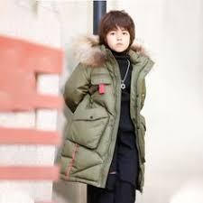 2019 Fleece <b>Girls Down</b> Jackets Thick Winter Children Coat <b>Hooded</b> ...