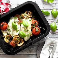 Mediterranean Baked Cod Recipe - Feed ...