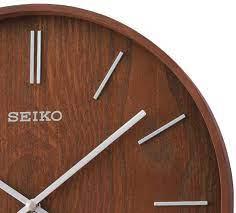 qxa765blh new seiko modern wall clock