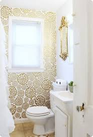 Image Peel The Spruce Smart Ways To Use Wallpaper In Your Bathroom