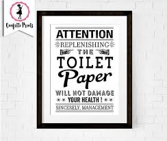toilet paper print funny bathroom art bathroom printable on toilet rules wall art with toilet paper print funny bathroom art bathroom rules bathroom