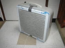 DIY air filter from box fan