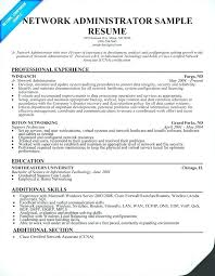 Combination Resume Sample Enchanting Sample Resume Of Server Administrator Combined With Here Are Sample