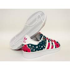 adidas shoes for girls superstar pink. zoom immagine shoes adidas superstar junior s80140 girl white watersea pink flower for girls l