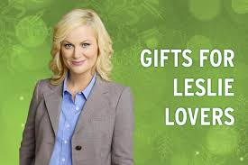 parks and recreation gifts for leslie knope