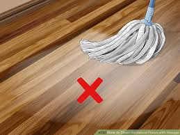 image titled clean hardwood floors with vinegar step 5