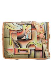 home magnifique bags handpainted purses bags magnifique cubic art leather hand painted handbag