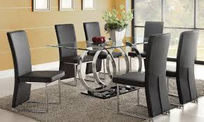 dining room astounding glass table sets magnificient set 2