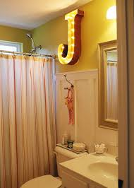 marquee lighting. View In Gallery Marquee Light Used The Bathroom Lighting