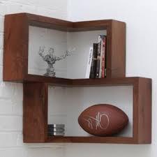 mahogany finish home office corner shelf. contemporary finish corner wall shelves intended mahogany finish home office corner shelf