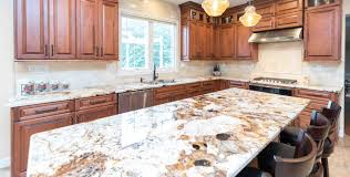 marble and granite countertops