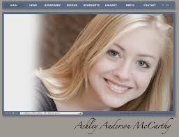 Ashley Anderson McCarthy's Acting Profile 2008 (link) Developed with Adobe Flash CS4 and XML - ashleyandersonmccarthy