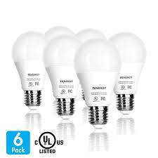 tenergy 9w led bulb 60 watt equivalent a19 led light bulbs e26 household lightbulb