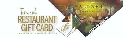 the temecula gift card is accepted at paring restaurants in temecula san go new mexico colorado springs and arizona