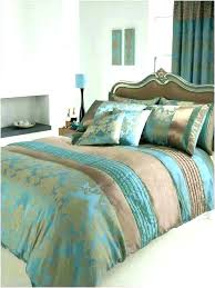 teal brown and gold bedding black comforter set cream queen b t white and gold bed sets