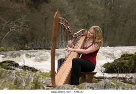 Image result for playing the harp