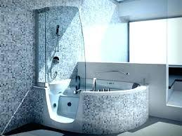 contemporary bathtub shower combo modern bathtub shower combo bath combinations with contemporary small bathroom design and