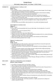 Product Consultant Sample Resume Product Consultant Resume Samples Velvet Jobs 1