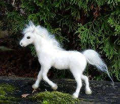 white baby horses playing. Fine Playing White Baby Horse Foal Needle Felted By Claudiasfinds On Etsy Inside Horses Playing H