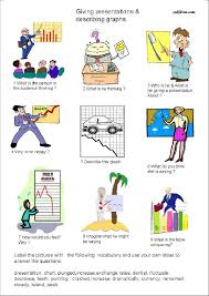 Questions and pictures to help students learn to describe graphs.