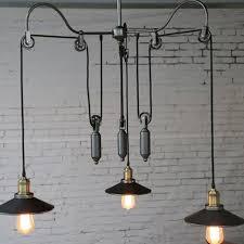 retro american country style pendant light loft warehouse hanging