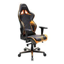 dxracer oh rv131 racing series ergonomic gaming chair orange blue red