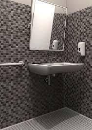 Disegno Bagni bagno dwg : bagno diversamente abili completo. bagni completi progetti di ...