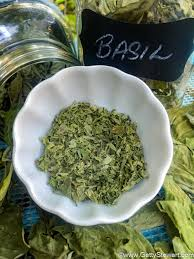 Fresh Basil To Dried Basil Conversion Chart How To Dry Basil In The Microwave Getty Stewart