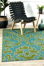 kailani blue green indoor outdoor area rug lime and rugs 1 decorating