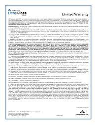 densglass shaftliner limited warranty usa pdf