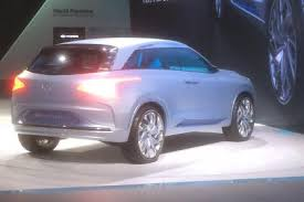 2018 hyundai fuel cell. brilliant hyundai hyundai fe fuel cell concept rear throughout 2018 hyundai fuel cell u