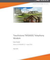 Arris Tm1602 Blinking Us Ds Light Arris Tm1602g Na User Manual Tm1602g Na Guide Tm1602g Na