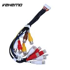 on sale us $11 95 vehemo car 24pin stereo radio wire harness plug raptor installation accessories car stereo wire harness at Car Accessories Wire Harness