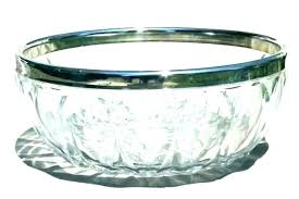 large glass serving bowl large glass serving bowl bowls clear vintage crystal extra large glass serving