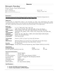 Java Sample Resume 4 Years Experience Java Sample Resume Core For