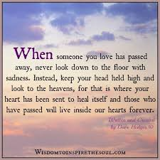 Quotes For Someone Who Passed Away Mesmerizing Daveswordsofwisdom They Will Live In Our Hearts Forever