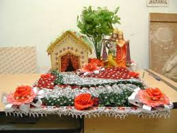 Saree Tray Decoration Saree Packing In Hand Made Tray Saree Packing In Hand Made Tray 39