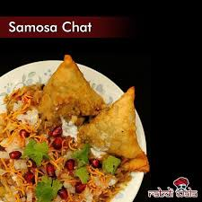 Any time is a great time to enjoy Rabdi Wala's  Samosa Chat! #Foodporrn #SnackAttack