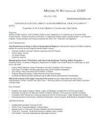 Safety Manager Resume Environmental Health And Safety Manager Resume Moulden Co