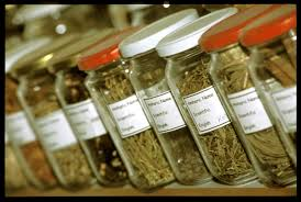 n traditional and herbal medications and their spice bottles