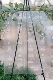 Wedding Seating Chart Acrylic Wedding Seating Charts She Laughs And Letters