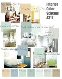 Color Schemes For Homes Interior Simple Design Inspiration